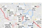 10 điểm kẹt xe nghiêm trọng ở TP.HCM
