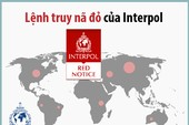 Lệnh truy nã đỏ - quy ước truy tìm của Interpol