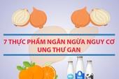 7 thực phẩm ngăn ngừa nguy cơ ung thư gan