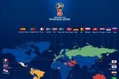 32 đội bóng vượt qua hành trình vòng loại, dự World Cup