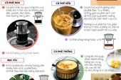 Những cách thưởng thức cà phê đặc sắc của người Việt