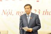 Nghị quyết của QH phê phán nghiêm khắc ông Vũ Huy Hoàng
