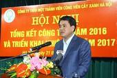 Chủ tịch Hà Nội: Phải học trồng cây xanh từ Trung Quốc