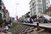 Hà Nội đề xuất hạ đê sông Hồng mở đường giao thông