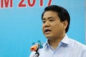 Ông Nguyễn Đức Chung nói về vụ chặt 1.300 cây ở Hà Nội