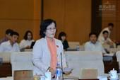 ĐBQH Trần Thị Quốc Khánh trình dự luật Hành chính công