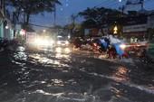 Mưa bất thường, Sài Gòn mùng 6 tết ngập nặng