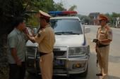 Những vi phạm thường gặp của tài xế và mức xử phạt