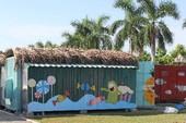 Độc đáo nhà bán trú cho học sinh bằng container
