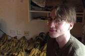 Thanh niên ăn 150 quả chuối mỗi tuần trừ cơm