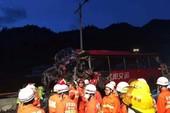Tai nạn kinh hoàng ở Trung Quốc, hàng chục người chết