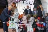 Halloween đầu ở Nhà Trắng của ông Trump có gì?