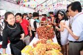 Vải thiều Lục Ngạn lên kệ đại siêu thị Thái Lan