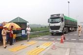 Lãnh đạo CSGT sẽ trực tiếp xuống đường xử lý xe quá tải