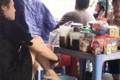 Phạt 7,5 triệu người quay clip 'nhúng chân vào trà đá'