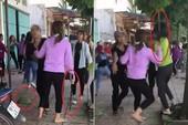 Điều tra 2 nhóm thiếu nữ cầm gậy sắt đánh nhau túi bụi