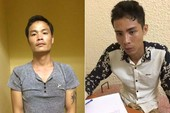 Bắt 2 thanh niên kề dao vào cổ tài xế, cướp taxi