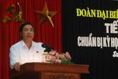 Ông Nguyễn Bá Thanh vắng mặt tại Quốc hội