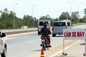 Mức phạt đối khi điều khiển xe máy đi vào đường cấm