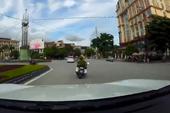 Pha trượt đuổi bắt taxi phạm luật như phim hành động