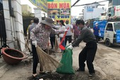 Hơn 1.000 người dân Bình Chánh tham gia dọn vệ sinh