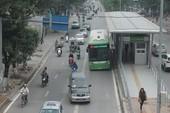 Tránh lấn làn, tuyến buýt nhanh được đặt giải phân cách