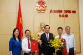 Bộ LĐ-TB&XH chính thức thêm 2 Thứ trưởng