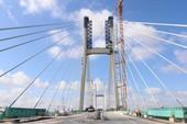 Bộ GTVT chính thức lên tiếng về vết nứt cầu Vàm Cống