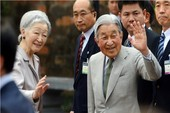 Hình ảnh Nhà vua và Hoàng Hậu Nhật Bản thăm Văn Miếu