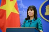 Bộ Ngoại giao trả lời về hoạt động dầu khí ở biển Đông