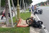Xe máy tông thẳng cột đèn, người đàn ông chết tại chỗ