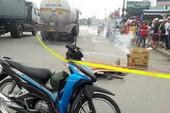 Cô gái trẻ đi xe đạp chết thảm dưới bánh xe bồn