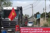 Dân TP Biên Hòa lại chặn đường phản đối xe vào mỏ đá