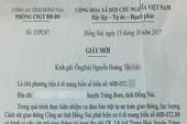 CSGT Đồng Nai nói gì về mời tài xế liên quan BOT?