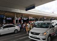 Tai nạn rình rập khách rời sân bay Tân Sơn Nhất