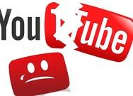 YouTube và Facebook bất ngờ bị sập