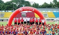 Chính thức khởi động trại hè bóng đá thiếu niên TOYOTA 2018