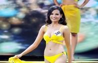 Ngắm thí sinh Hoa hậu Hoàn vũ diện bikini nóng bỏng