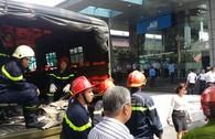 Cháy dưới tầng hầm tòa nhà MB Sunny Tower