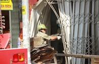 Toàn cảnh vụ cháy lớn giữa đêm ở quận Tân Phú