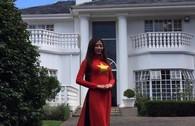 Những hình ảnh của Thùy Dương tại Miss Heritage Global