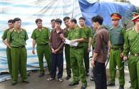 Toàn cảnh buổi thực nghiệm hiện trường vụ thảm sát ở Bình Phước