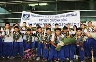 Thái Sơn Nam mang kỳ tích về cho Futsal Việt Nam
