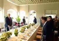 Có gì trong thực đơn bữa trưa của ông Trump và ông Kim