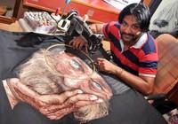 Gặp gỡ nghệ nhân thêu tranh bằng máy may cực độc đáo