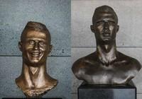 Ronaldo được thay tượng sau khi lập hat-trick tại World Cup