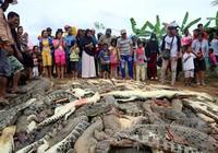 Dân làng giết sạch 292 con cá sấu để trả thù cho 1 mạng người
