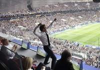 Tổng thống Macron phấn khích khi Pháp vô địch World Cup