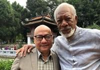 Tài tử Morgan Freeman làm phim ở Văn Miếu, Tòa thánh Tây Ninh