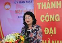 Phó Chủ tịch nước dự ngày hội Đại đoàn kết tại Bình Dương